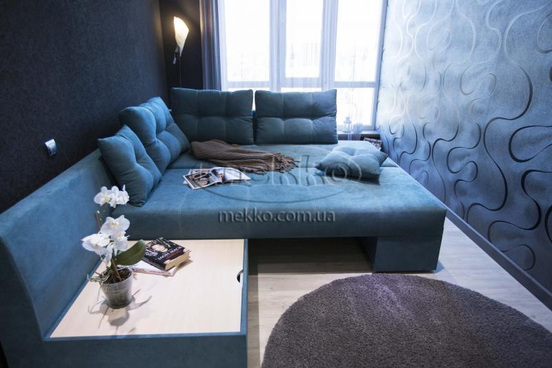 Кутовий диван з поворотним механізмом (Mercury) Меркурій ф-ка Мекко (Ортопедичний) - 3000*2150мм  Чигирин-4