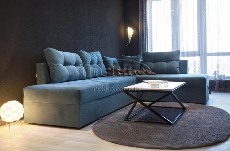 Кутовий диван з поворотним механізмом (Mercury) Меркурій ф-ка Мекко (Ортопедичний) - 3000*2150мм  Чигирин