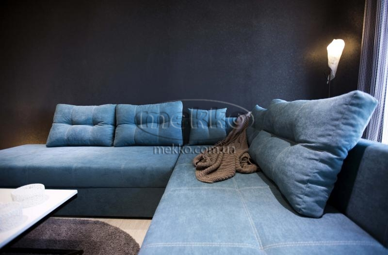 Кутовий диван з поворотним механізмом (Mercury) Меркурій ф-ка Мекко (Ортопедичний) - 3000*2150мм  Чигирин-5