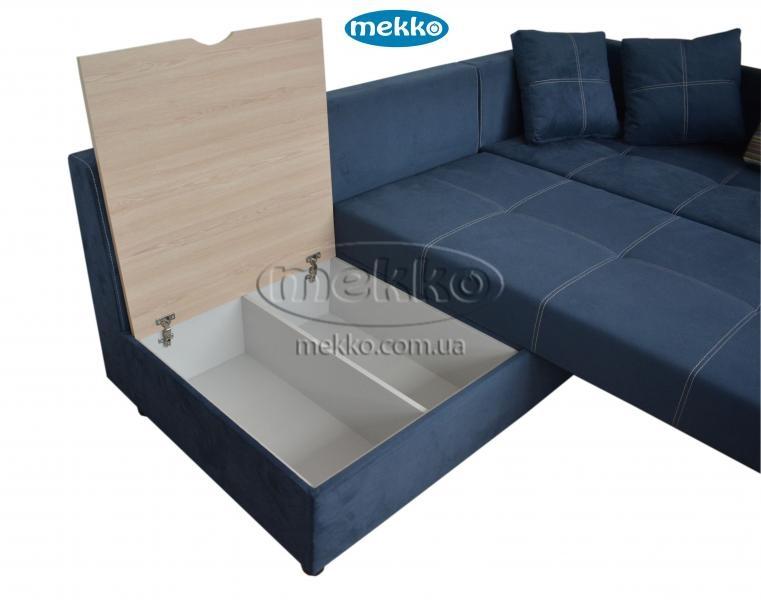 Кутовий диван з поворотним механізмом (Mercury) Меркурій ф-ка Мекко (Ортопедичний) - 3000*2150мм  Чигирин-18