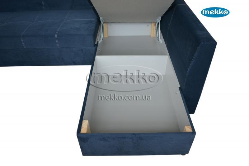 Кутовий диван з поворотним механізмом (Mercury) Меркурій ф-ка Мекко (Ортопедичний) - 3000*2150мм  Чигирин-20