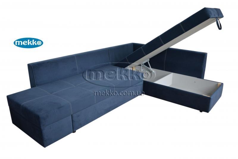Кутовий диван з поворотним механізмом (Mercury) Меркурій ф-ка Мекко (Ортопедичний) - 3000*2150мм  Чигирин-14
