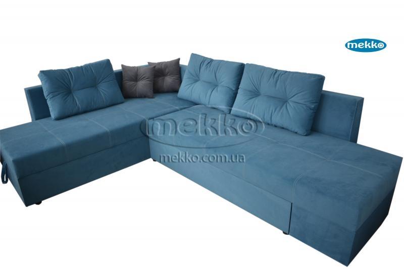 Кутовий диван з поворотним механізмом (Mercury) Меркурій ф-ка Мекко (Ортопедичний) - 3000*2150мм  Чигирин-10