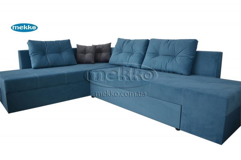 Кутовий диван з поворотним механізмом (Mercury) Меркурій ф-ка Мекко (Ортопедичний) - 3000*2150мм  Чигирин-11