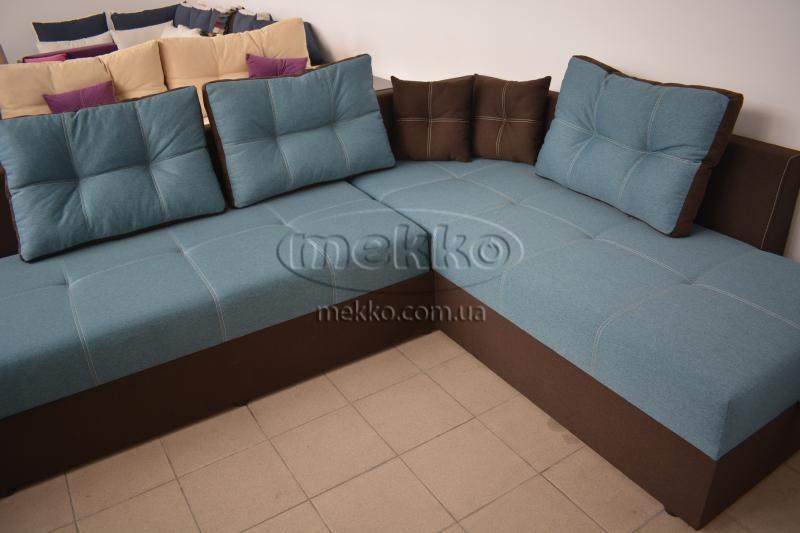 Кутовий диван з поворотним механізмом (Mercury) Меркурій ф-ка Мекко (Ортопедичний) - 3000*2150мм  Чигирин-8